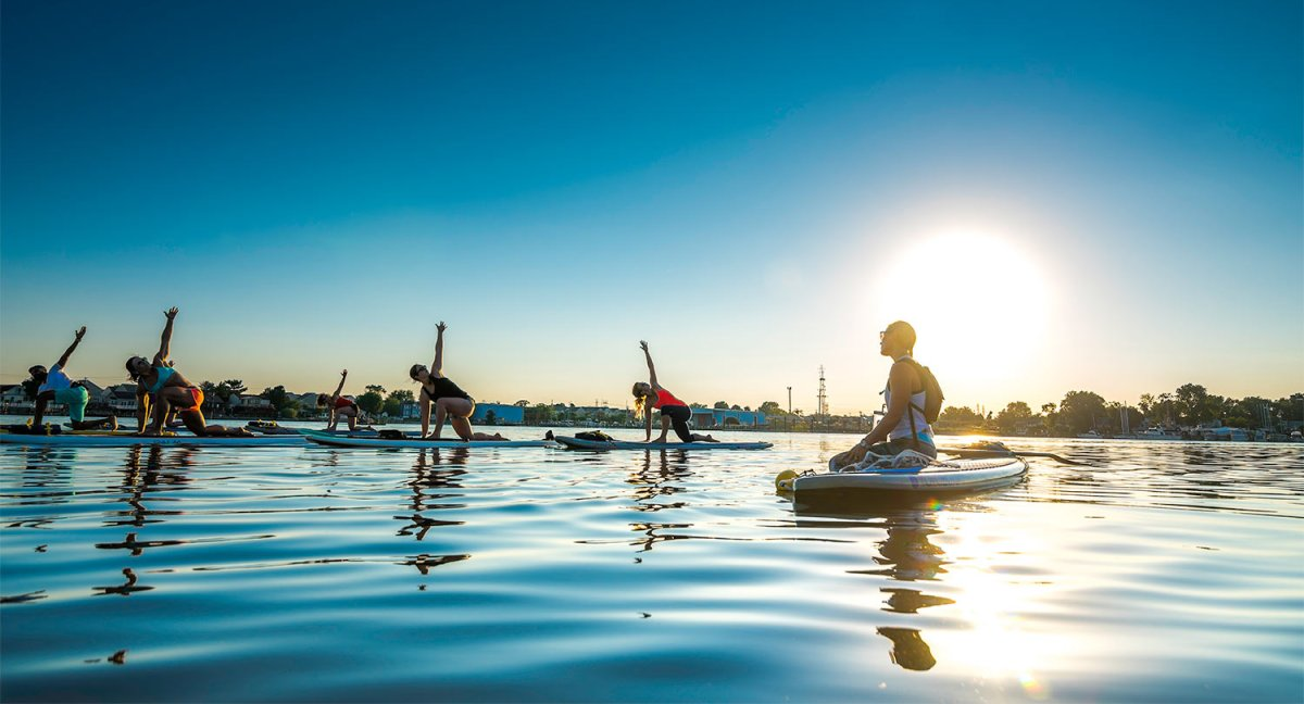What's Better than Regular Yoga? SUP Yoga!