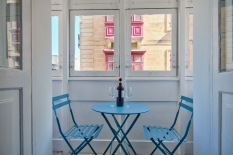 Traditional Balcony at Borgo Valletta Apartment